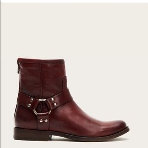 Frye Phillips Harness Leather Boots